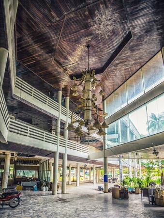 Abandoned hotel  after the 2004 tsunami. Thailand. Phuket Banco de Imagens