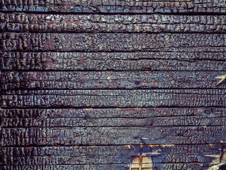 Burning wood texture background photo
