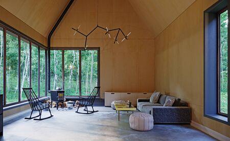 Modern home interior of a living room