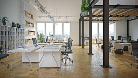 Contemporary  office interior.