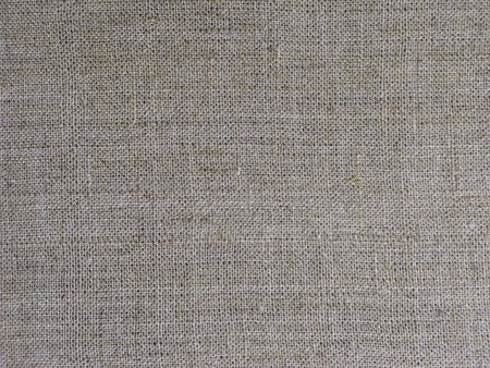 Rough flax fabric texture