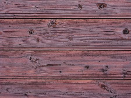 Fragment of old red wooden background texture Stock Photo