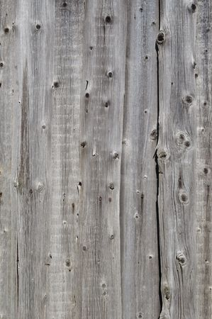 Close up of natural weathered rough wooden boards background photo