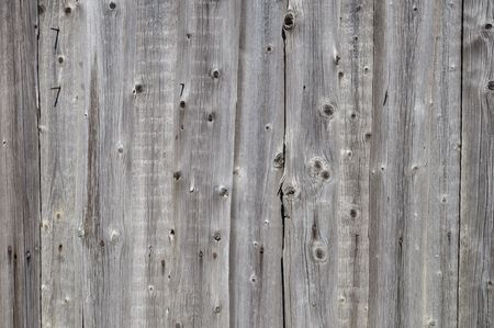 Close up of natural rustic gray wooden boards background Stock Photo - 6701674