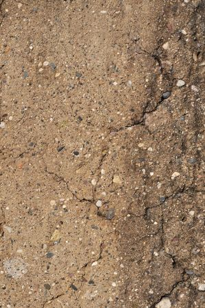 Close up of old cracked gray concrete texture Stock Photo - 6790096