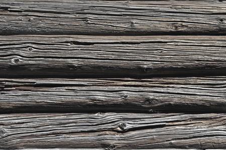 Frammento di sfondo muro registro del vecchio fienile in legno
