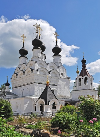 whitsun: Trinity cathedral (1643) in Holy Trinity Monastery of Murom city, Vladimir region, Russia
