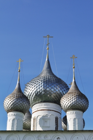 Domes of the Resurrection Monastery, Uglich, Russia photo