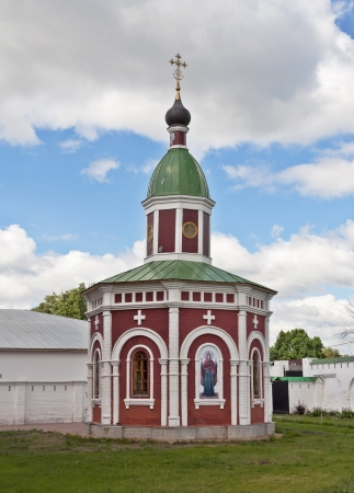Sanctification of waters Chapel in the Spassky Monastery, Murom, Russia Stock Photo - 19211352