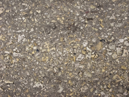 road surface: Country macadam road surface texture