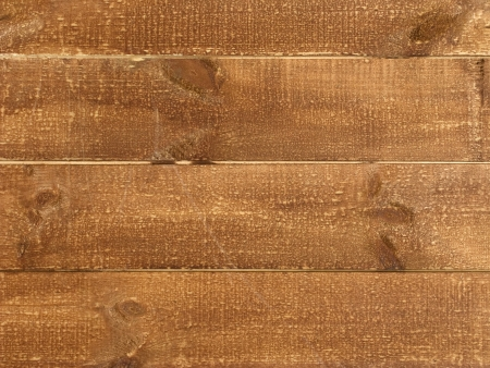Close up of ocher tone wooden board background