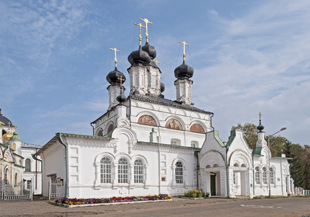 righteous: Procopius the Righteous Cathedral at Sobornoe Dvorische (built in 1668) in Veliky Ustiug, North Russia