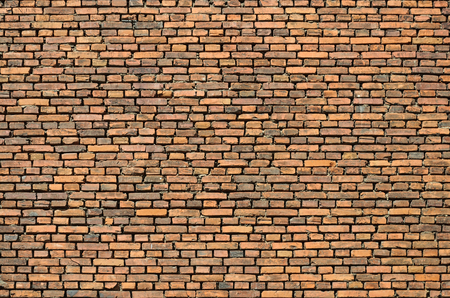 fragment: Fragment of old vintage brick wall background