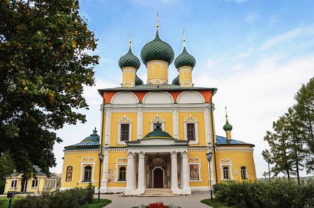 uglich russia: Spaso-Preobrazhensky (Transfiguration) Cathedral in Uglich Kremlin, Yaroslavl region, Russia Editorial