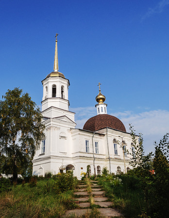 onega: Trinity Cathedral in Onega, Arkhangelsk region, Russia