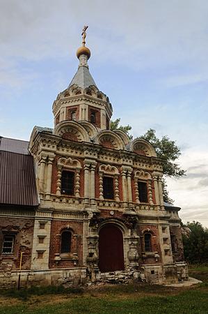 Church of St. Alexandra in Muromtsevo, Count Khrapovitsky homestead, Vladimir region, Russia