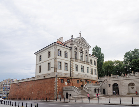 Museum of Polish composer Frederic Chopin at Ostrogsky castle in Warsaw, Poland