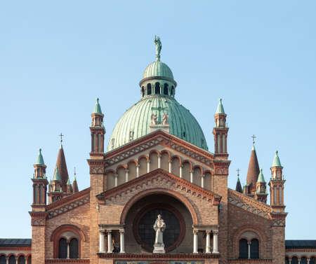 Roman catholic St. Anthony of Padua Church in Vienna, Austria