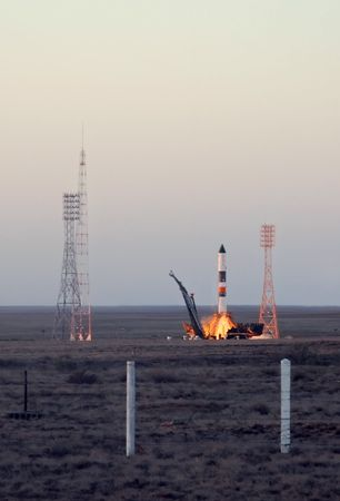 payload: Russian Progress rocket launch from Baikonur cosmodrome in Kazakhstan on the 30th of June, 2010, to deliver cargos and payloads to the International Space Station.