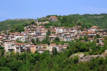 View of Veliko Tarnovo in Bulgaria in the spring photo