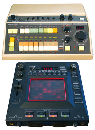 Analog Drum Machine and Digital FX Processor