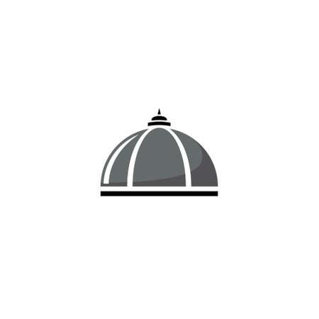 Dome illustration design background.