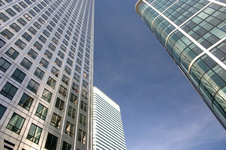 business building in london city