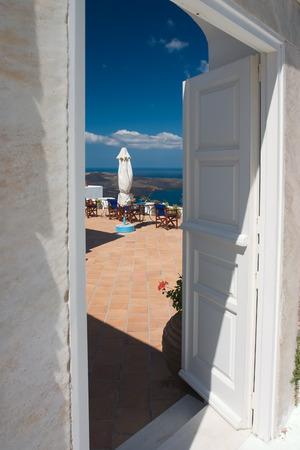 Open doors on the balcony invites you