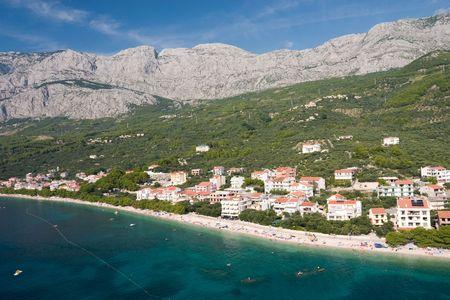 Croatian holiday town Tucepi