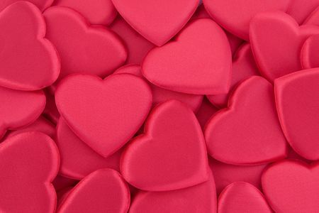 Heart shapes background for Valentines Day themes