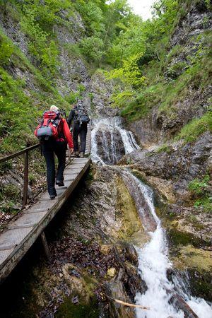Trekking in Mala Fatra National Park, Slovakia