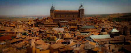 medieval city Stock Photo