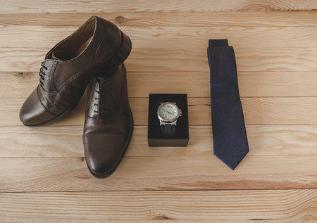 Shoes and dress accessories elegantly 스톡 콘텐츠
