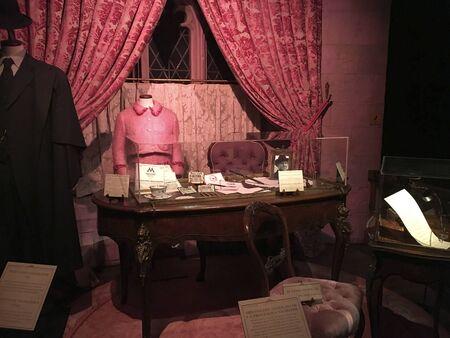 Madrid, Spain; November 26, 2017; Exhibition of original Harry Potter material at Ifema, Pavilion 1.