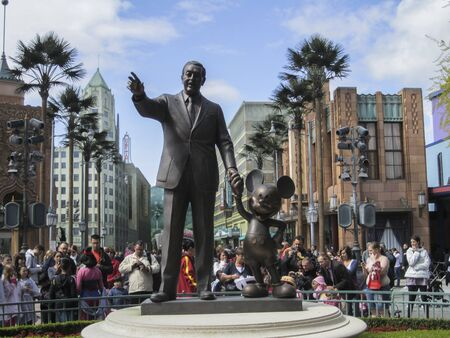 Visit the theme park of Disneyland Paris, composed of its different attractions, themed corners and shops or shows. Editorial