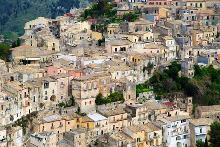 ragusa: Old Town in Ragusa, Sicily, Italy