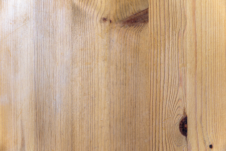 impregnated: Old light pine wood with some scratches for background, vertical