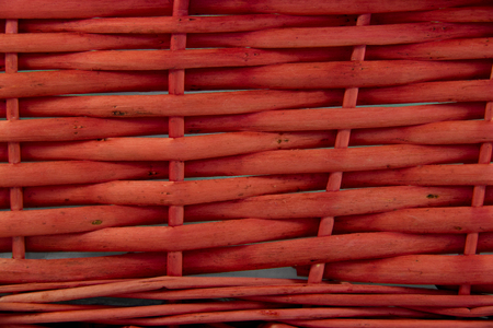 fad: Woven Basket Texture In Fad Red