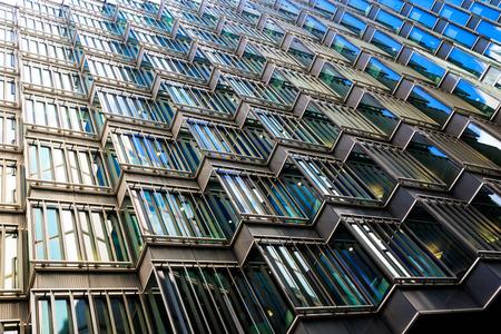 Abstracte architectuur van een modern gebouw
