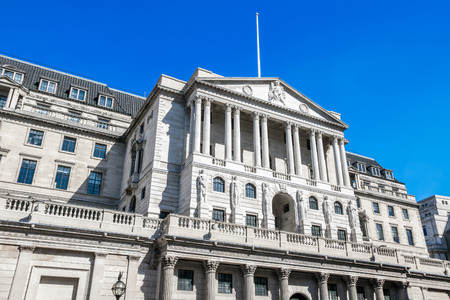 uk money: The Bank of England, headquarters in London