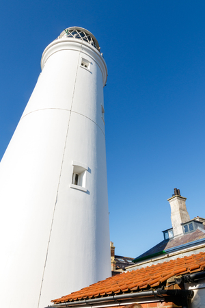 southwold: Southwold lighthouse, in the centre of Southwold in Suffolk, England Stock Photo