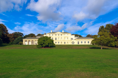 London, UK - October 17, 2016 - Kenwood House, a former stately home in Hampstead, is managed by English Heritage and open to the public Banco de Imagens