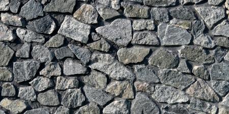 dauerhaft: langlebig und sch�n Mauer aus Granit