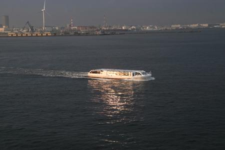 transit: vessel in transit