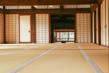 interior space of a Japanese traditional house