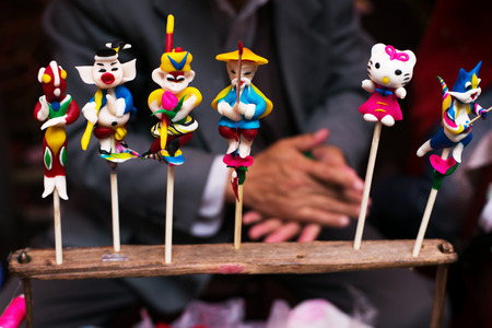 chinese traditional mud toy