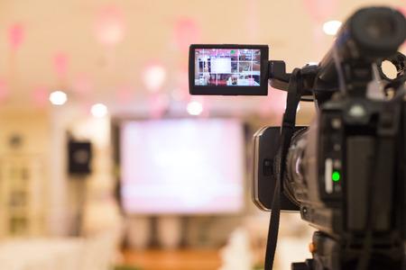 cintas: cámara de video