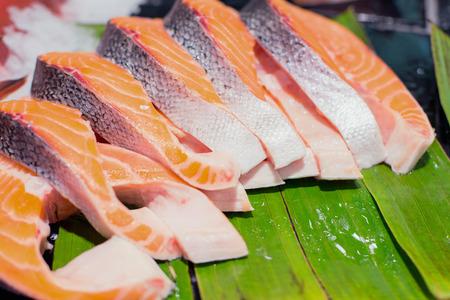salmon fish sashimi