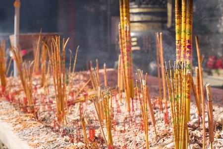 incienso: la quema de incienso chino