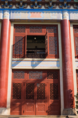 yat sen: exterior of Sun Yat Sen Memorial Hall, Guangzhou